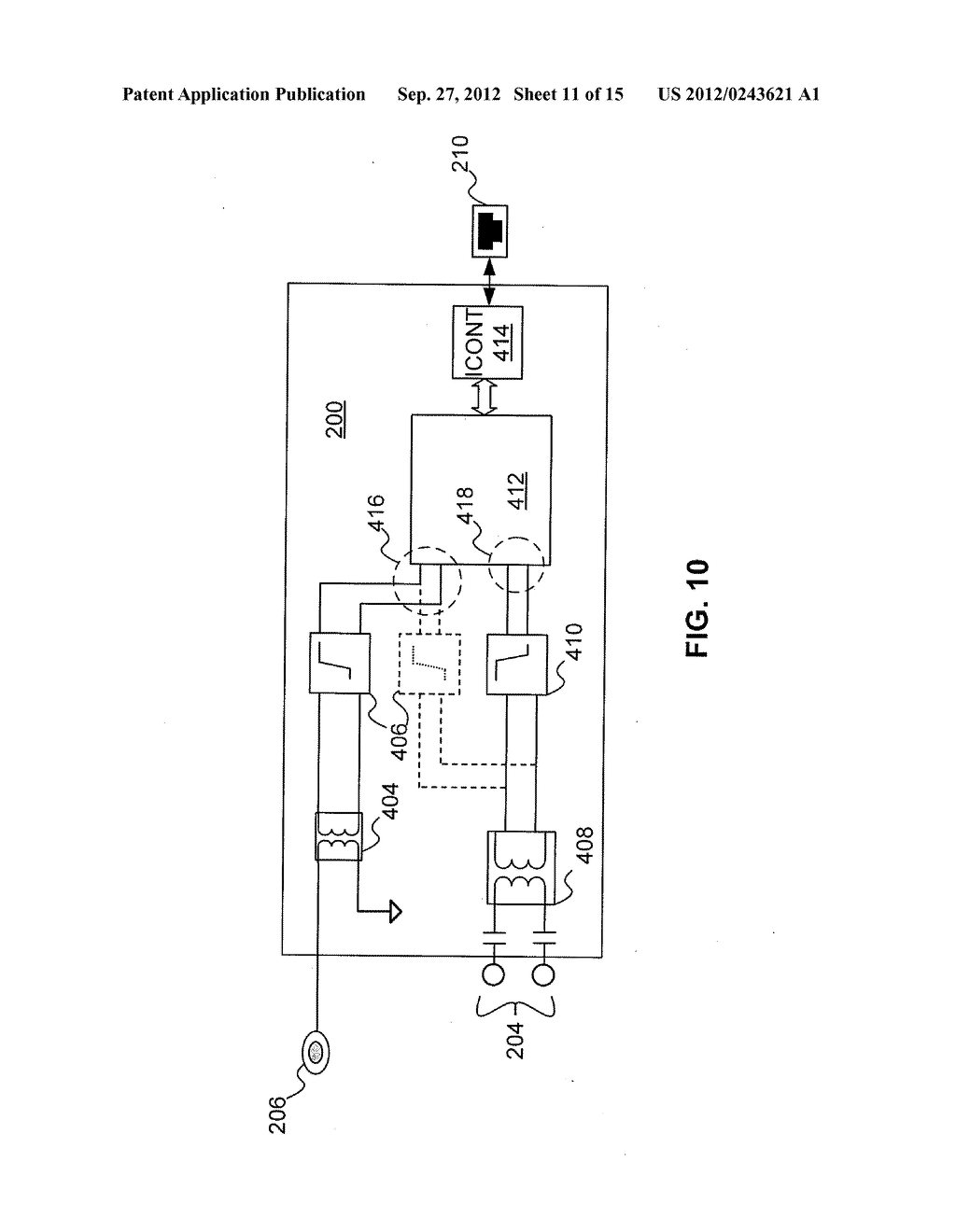 Multi-Wideband Communications over Multiple Mediums within a Network - diagram, schematic, and image 12