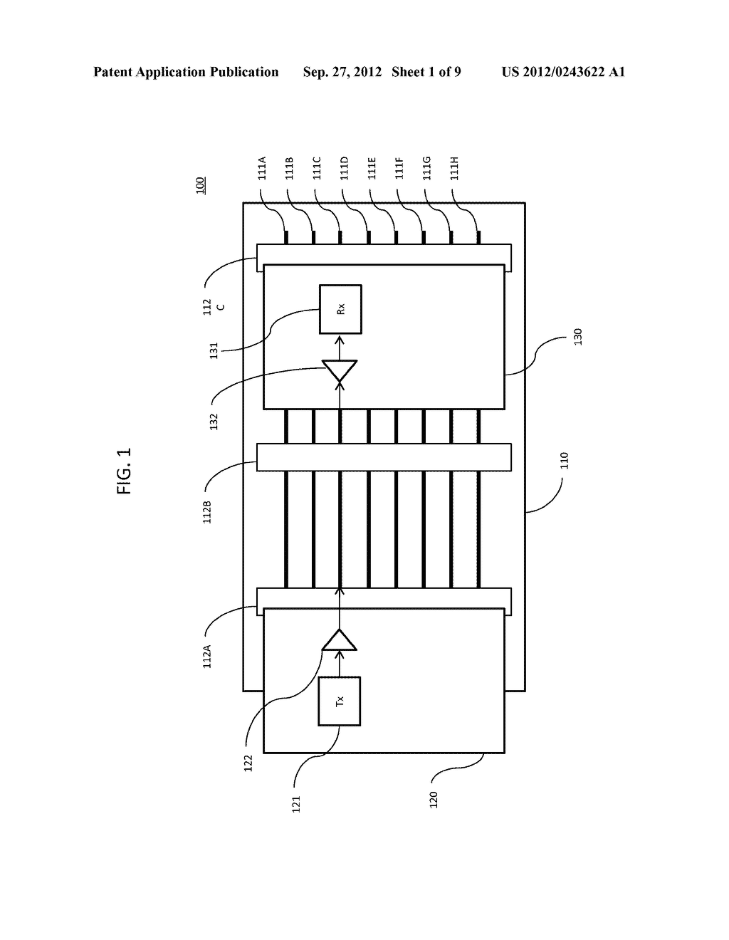 METHOD AND APPARATUS FOR IMPROVING THE ERROR RATE OF A SERIAL/DE-SERIAL     BACKPLANE CONNECTION - diagram, schematic, and image 02