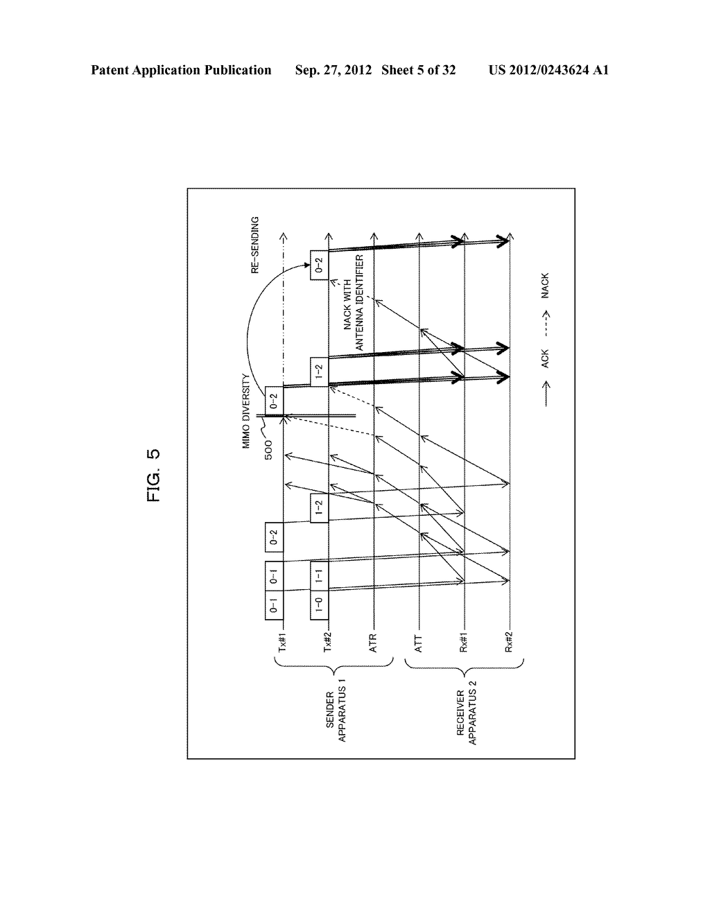 TRANSMISSION CONTROLLING METHOD, SENDER APPARATUS AND RECEIVER APPARATUS     FOR WIRELESS COMMUNICATION SYSTEM - diagram, schematic, and image 06