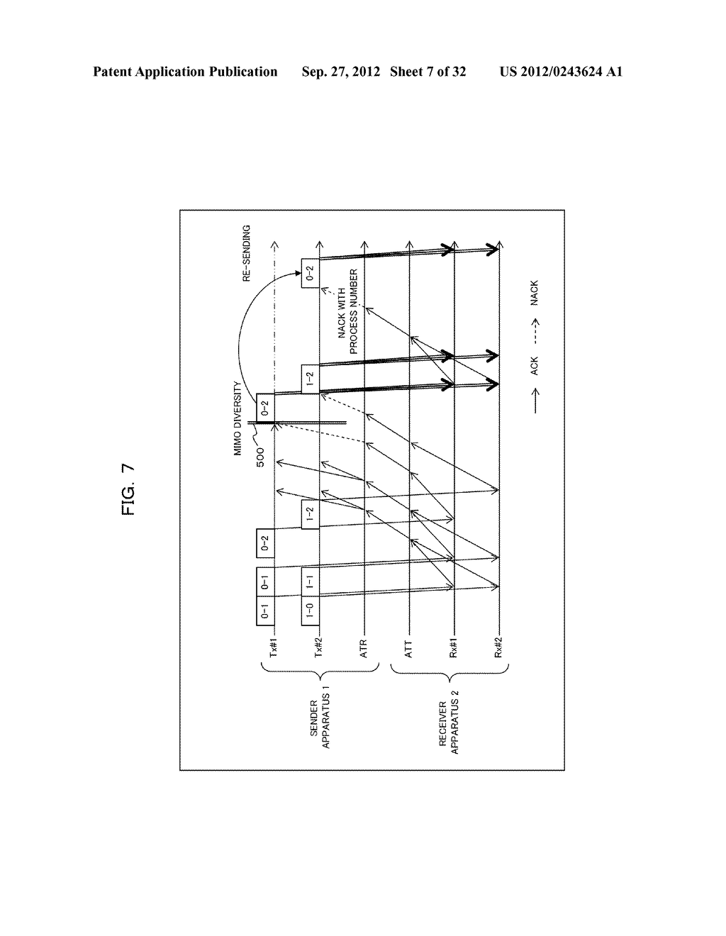 TRANSMISSION CONTROLLING METHOD, SENDER APPARATUS AND RECEIVER APPARATUS     FOR WIRELESS COMMUNICATION SYSTEM - diagram, schematic, and image 08
