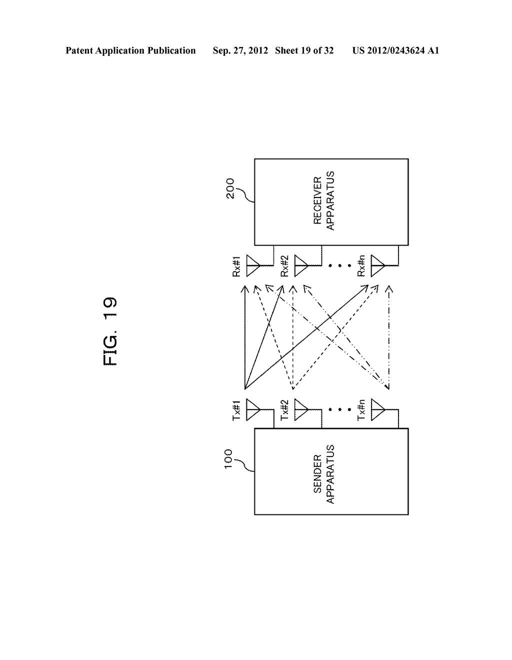 TRANSMISSION CONTROLLING METHOD, SENDER APPARATUS AND RECEIVER APPARATUS     FOR WIRELESS COMMUNICATION SYSTEM - diagram, schematic, and image 20