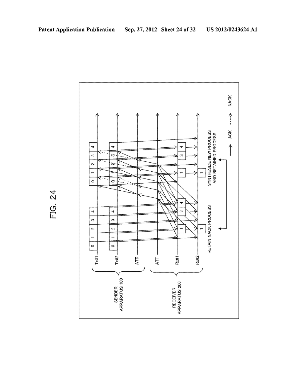 TRANSMISSION CONTROLLING METHOD, SENDER APPARATUS AND RECEIVER APPARATUS     FOR WIRELESS COMMUNICATION SYSTEM - diagram, schematic, and image 25