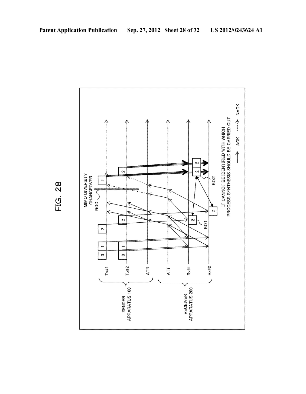 TRANSMISSION CONTROLLING METHOD, SENDER APPARATUS AND RECEIVER APPARATUS     FOR WIRELESS COMMUNICATION SYSTEM - diagram, schematic, and image 29
