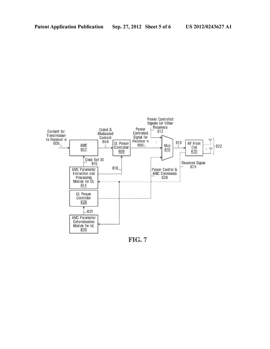 ADAPTIVE POWER CONTROL DATA TRANSMISSION SYSTEM AND METHODS - diagram, schematic, and image 06