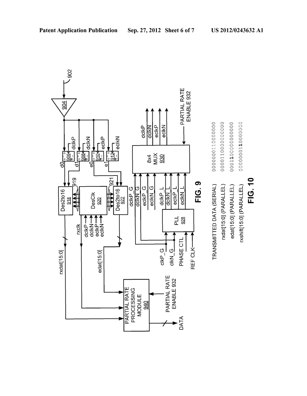 PARTIAL-RATE TRANSFER MODE FOR FIXED-CLOCK-RATE INTERFACE - diagram, schematic, and image 07