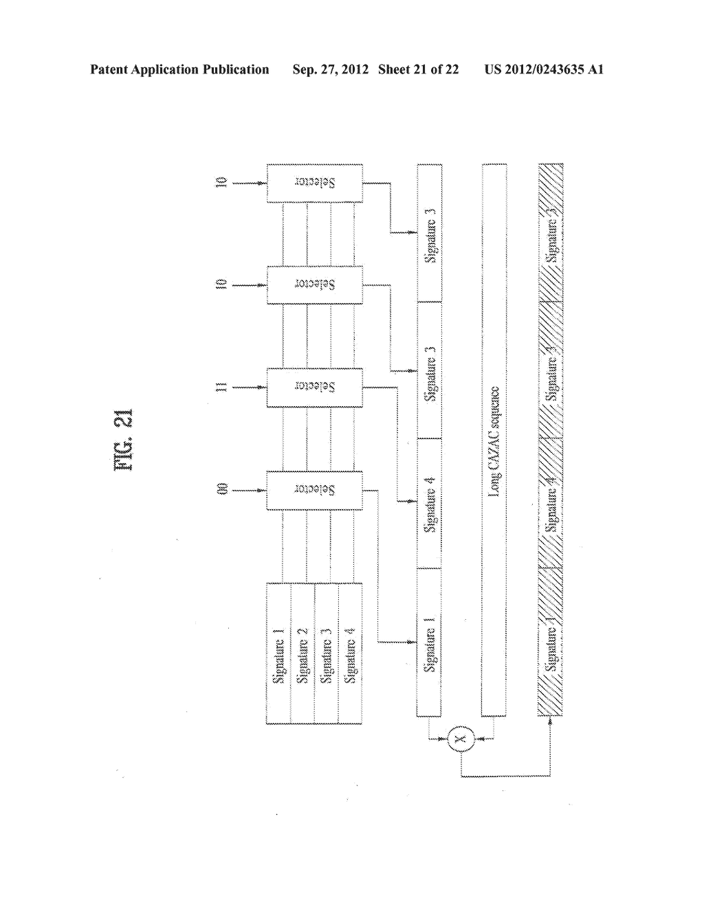 METHOD OF TRANSMITTING DATA IN A MOBILE COMMUNICATION SYSTEM - diagram, schematic, and image 22