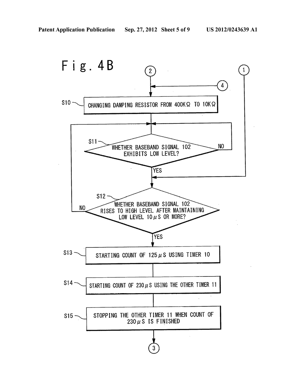 DATA COMMUNICATION DEVICE, AIR PRESSURE MONITORING SYSTEM USING THEREOF,     AND DATA COMMUNICATION METHOD - diagram, schematic, and image 06