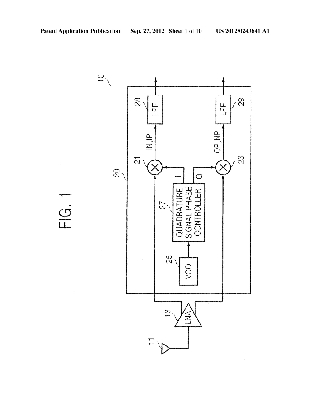 QUADRATURE SIGNAL PHASE CONTROLLER FOR CONTROLLING PHASE - diagram, schematic, and image 02