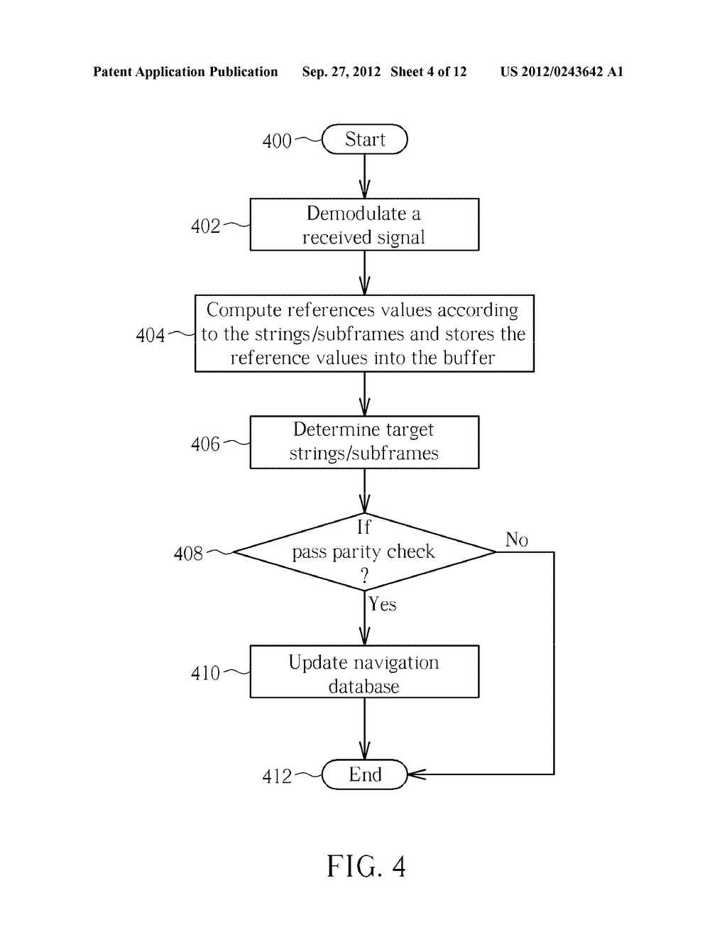 APPARATUS FOR DECODING GLOBAL NAVIGATION SATELLITE SYSTEMS NAVIGATION DATA     AND ASSOCIATED METHOD - diagram, schematic, and image 05