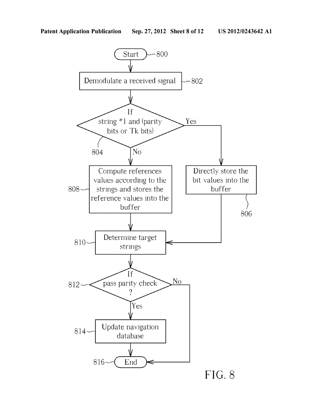 APPARATUS FOR DECODING GLOBAL NAVIGATION SATELLITE SYSTEMS NAVIGATION DATA     AND ASSOCIATED METHOD - diagram, schematic, and image 09
