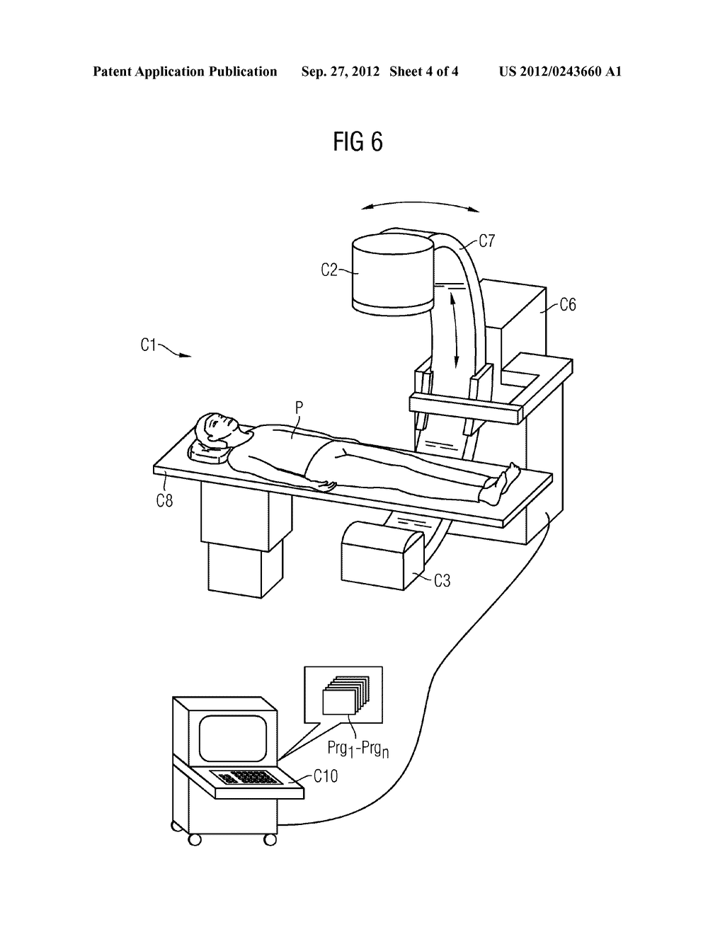 Method For Correcting Detector Data Of An X-Ray Detector And X-Ray     Recording System - diagram, schematic, and image 05