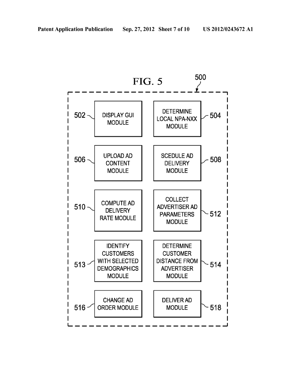 System and Method for Delivering Advertising to Packet-Based Telephones - diagram, schematic, and image 08
