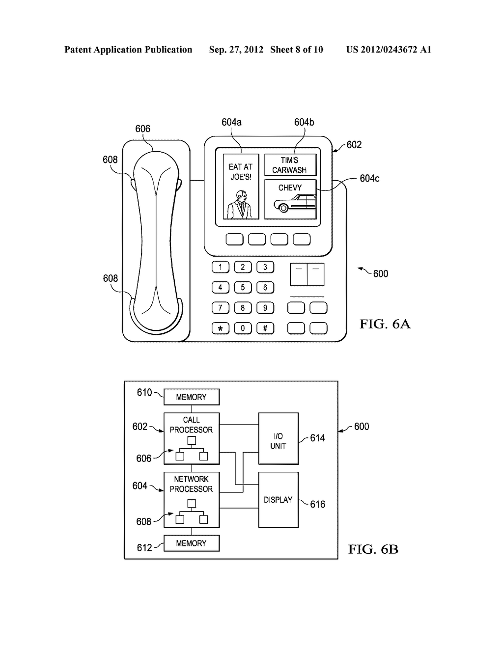 System and Method for Delivering Advertising to Packet-Based Telephones - diagram, schematic, and image 09