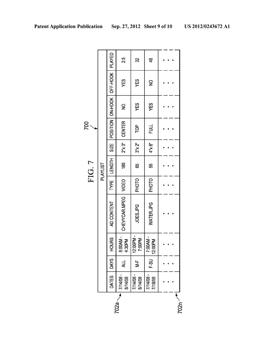 System and Method for Delivering Advertising to Packet-Based Telephones - diagram, schematic, and image 10