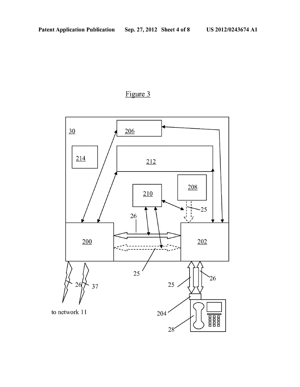 LOCATION SYSTEM AND METHOD FOR ASSISTING EMERGENCY SERVICES IN IDENTIFYING     THE PHYSICAL LOCATION OF AN IP TELEPHONY USER - diagram, schematic, and image 05
