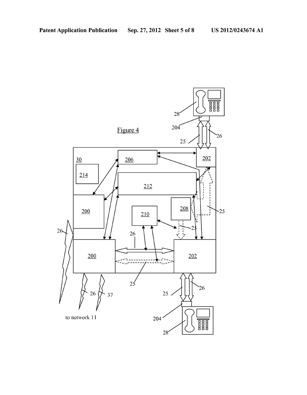 LOCATION SYSTEM AND METHOD FOR ASSISTING EMERGENCY SERVICES IN IDENTIFYING     THE PHYSICAL LOCATION OF AN IP TELEPHONY USER - diagram, schematic, and image 06