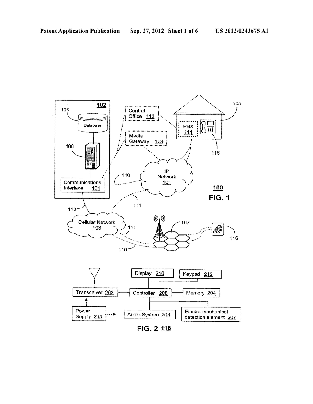 Method for Announcing a Calling Party From a Communication Device - diagram, schematic, and image 02