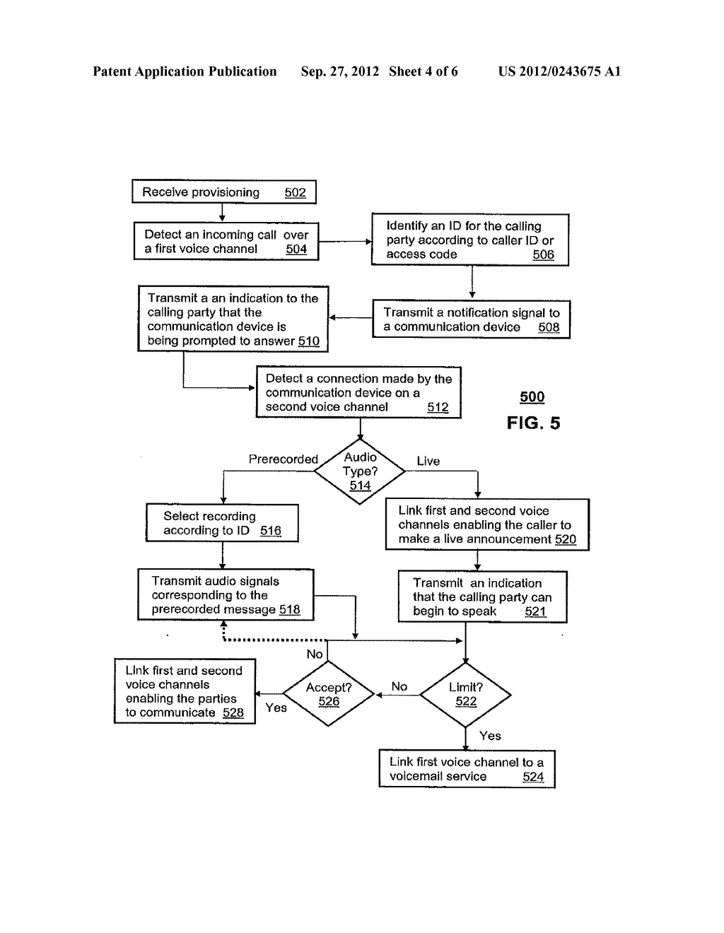 Method for Announcing a Calling Party From a Communication Device - diagram, schematic, and image 05