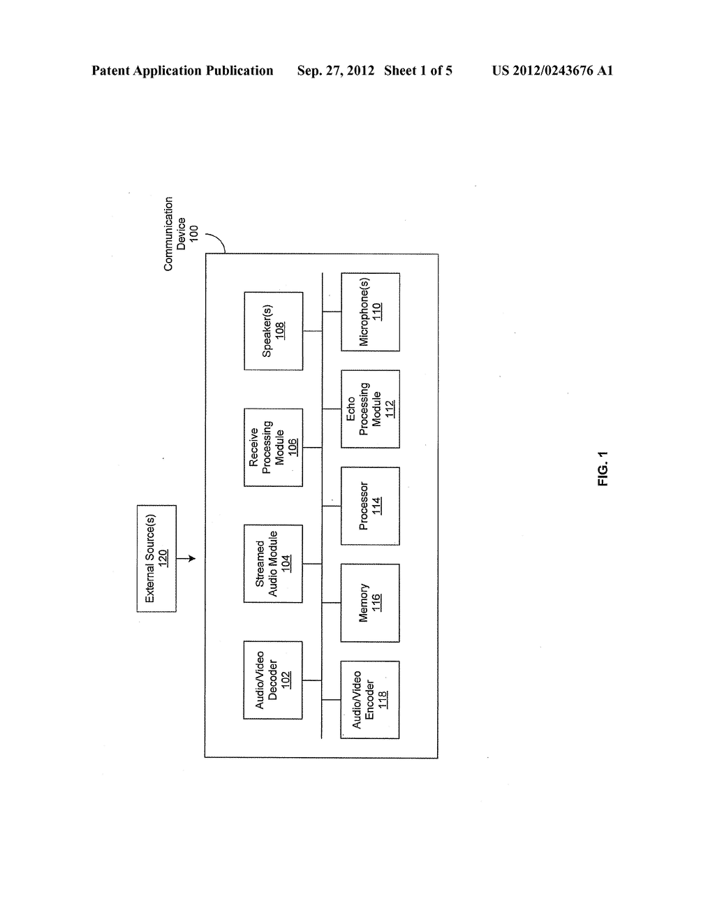 Method and System for Echo Cancellation in Presence of Streamed Audio - diagram, schematic, and image 02
