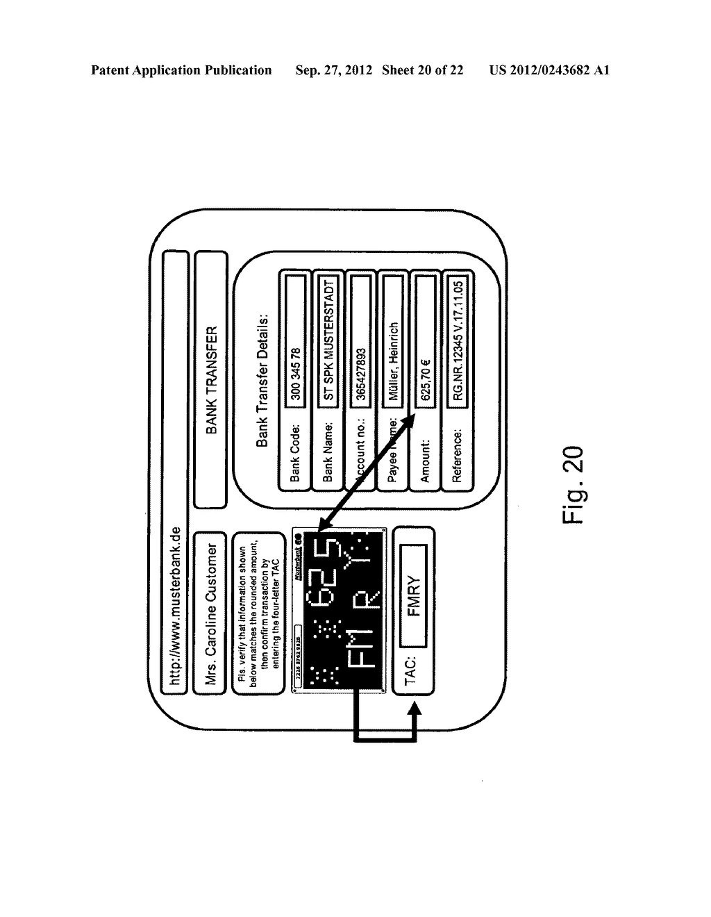 METHOD AND SYSTEM FOR TRANSMITTING DATA FROM A FIRST DATA PROCESSING     DEVICE TO A SECOND DATA PROCESSING DEVICE - diagram, schematic, and image 21