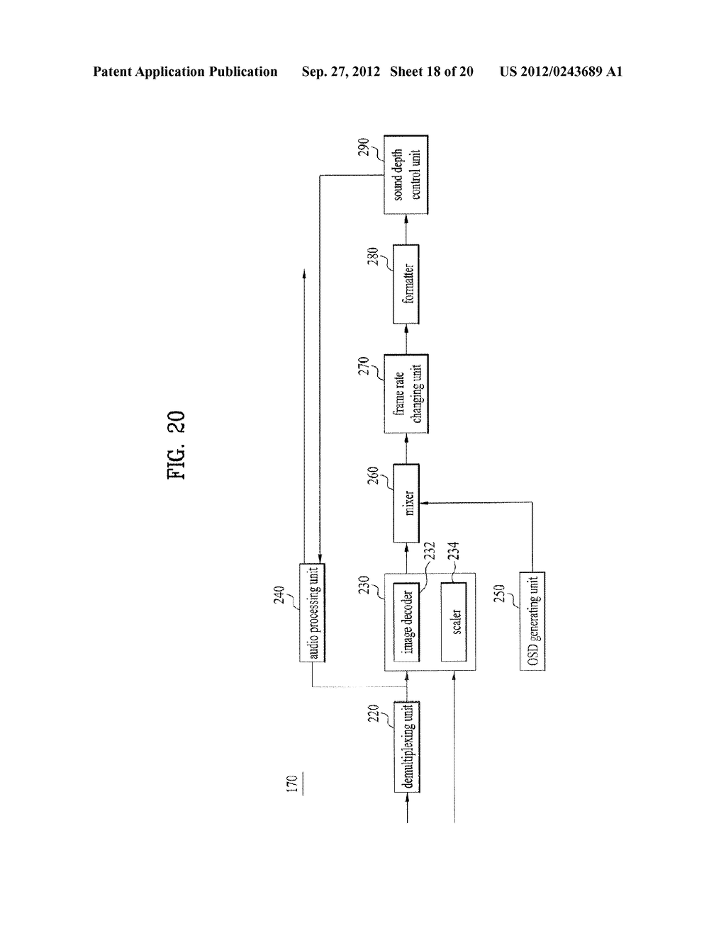 APPARATUS FOR CONTROLLING DEPTH/DISTANCE OF SOUND AND METHOD THEREOF - diagram, schematic, and image 19
