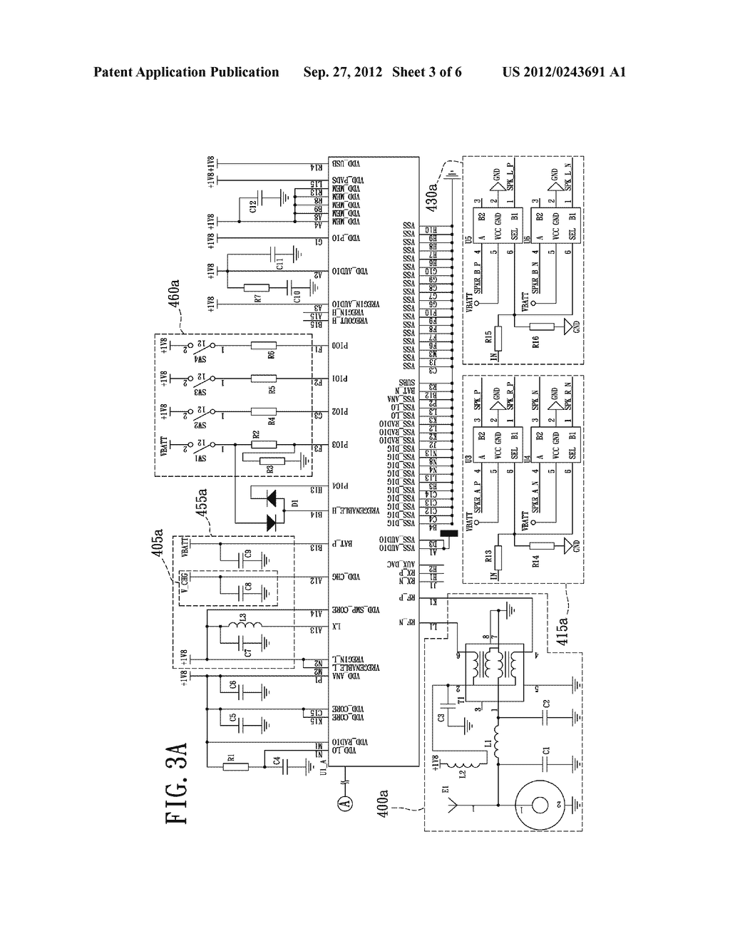 WIRELESS HEADSET DEVICE CAPABLE OF PROVIDING BALANCED STEREO AND METHOD     THEREOF - diagram, schematic, and image 04
