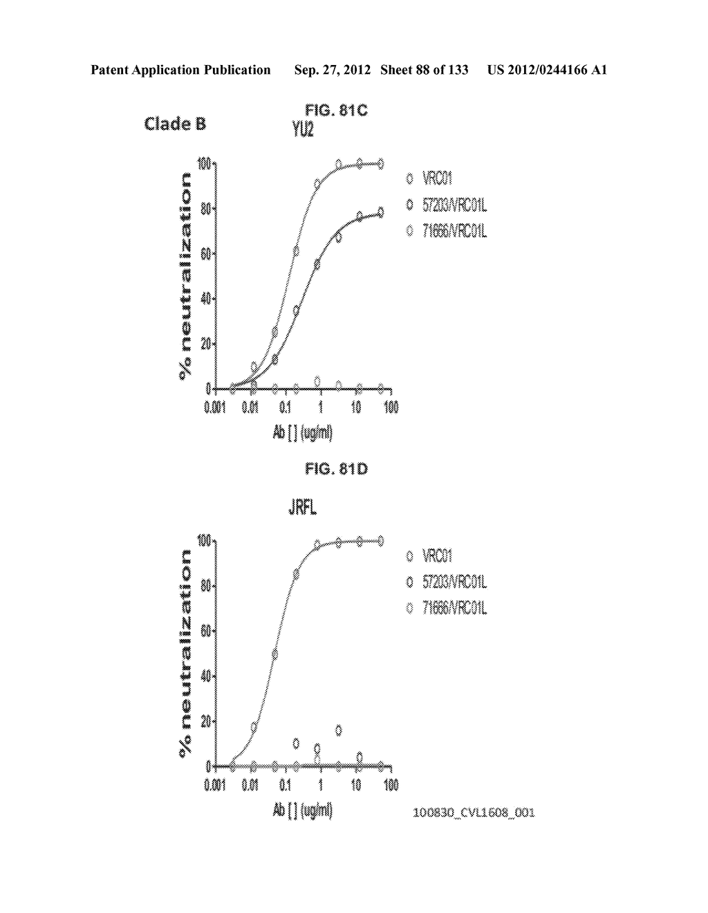 NEUTRALIZING ANTIBODIES TO HIV-1 AND THEIR USE - diagram, schematic, and image 89