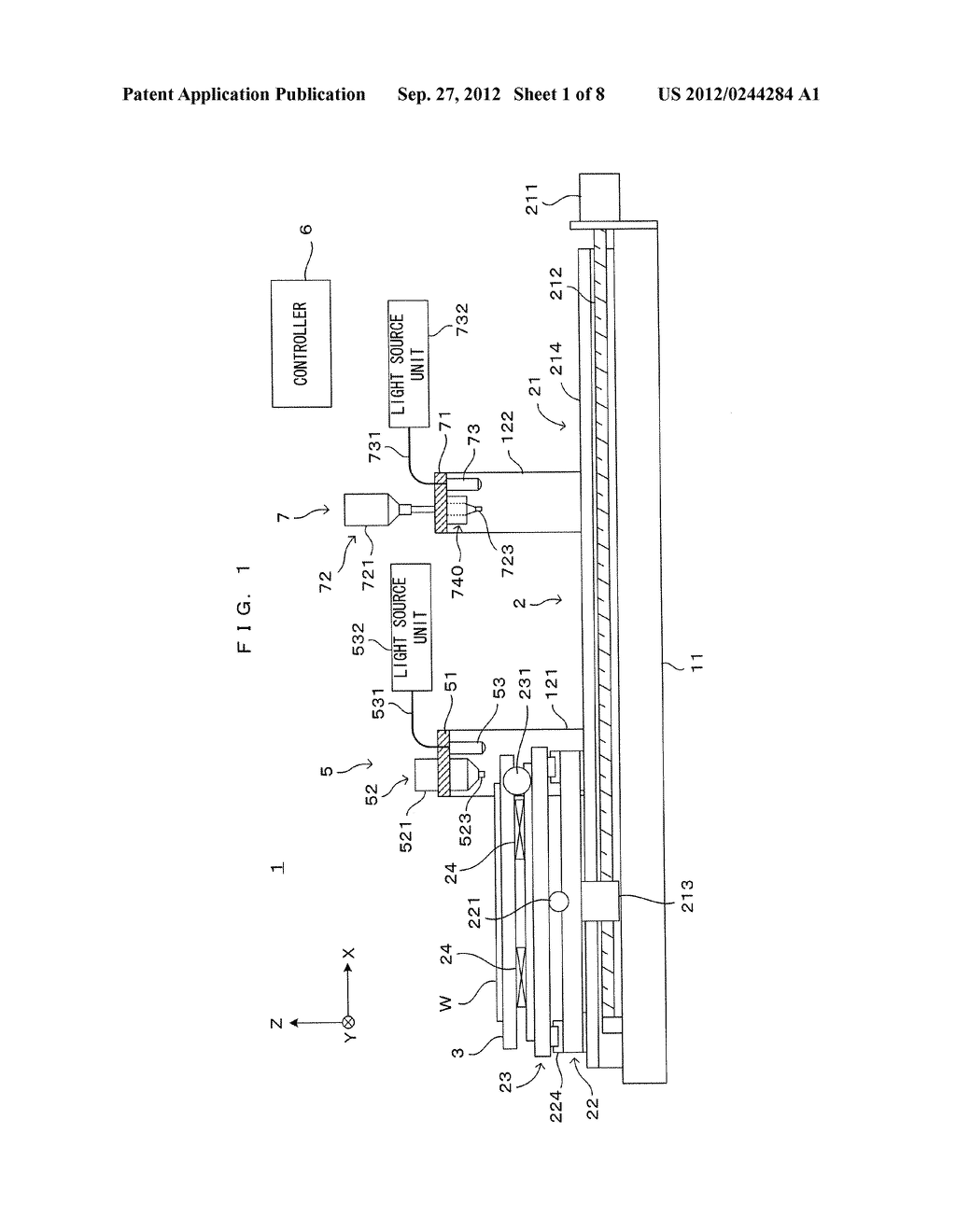 PATTERN FORMING APPARATUS AND PATTERN FORMING METHOD - diagram, schematic, and image 02