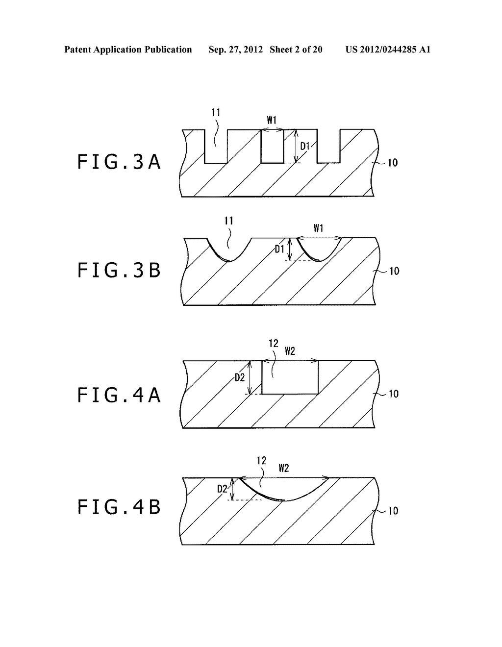 BUBBLE DISCHARGING STRUCTURE, REVERSE PRINTING BLOCK, DISPLAY DEVICE,     PRINTING METHOD, AND METHOD OF MANUFACTURING DISPLAY DEVICE - diagram, schematic, and image 03