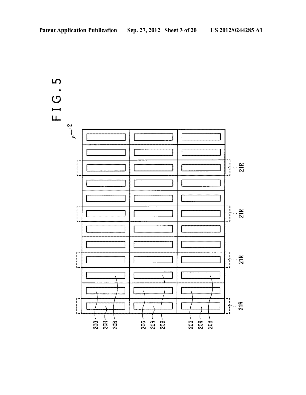BUBBLE DISCHARGING STRUCTURE, REVERSE PRINTING BLOCK, DISPLAY DEVICE,     PRINTING METHOD, AND METHOD OF MANUFACTURING DISPLAY DEVICE - diagram, schematic, and image 04