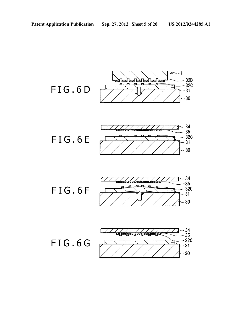 BUBBLE DISCHARGING STRUCTURE, REVERSE PRINTING BLOCK, DISPLAY DEVICE,     PRINTING METHOD, AND METHOD OF MANUFACTURING DISPLAY DEVICE - diagram, schematic, and image 06