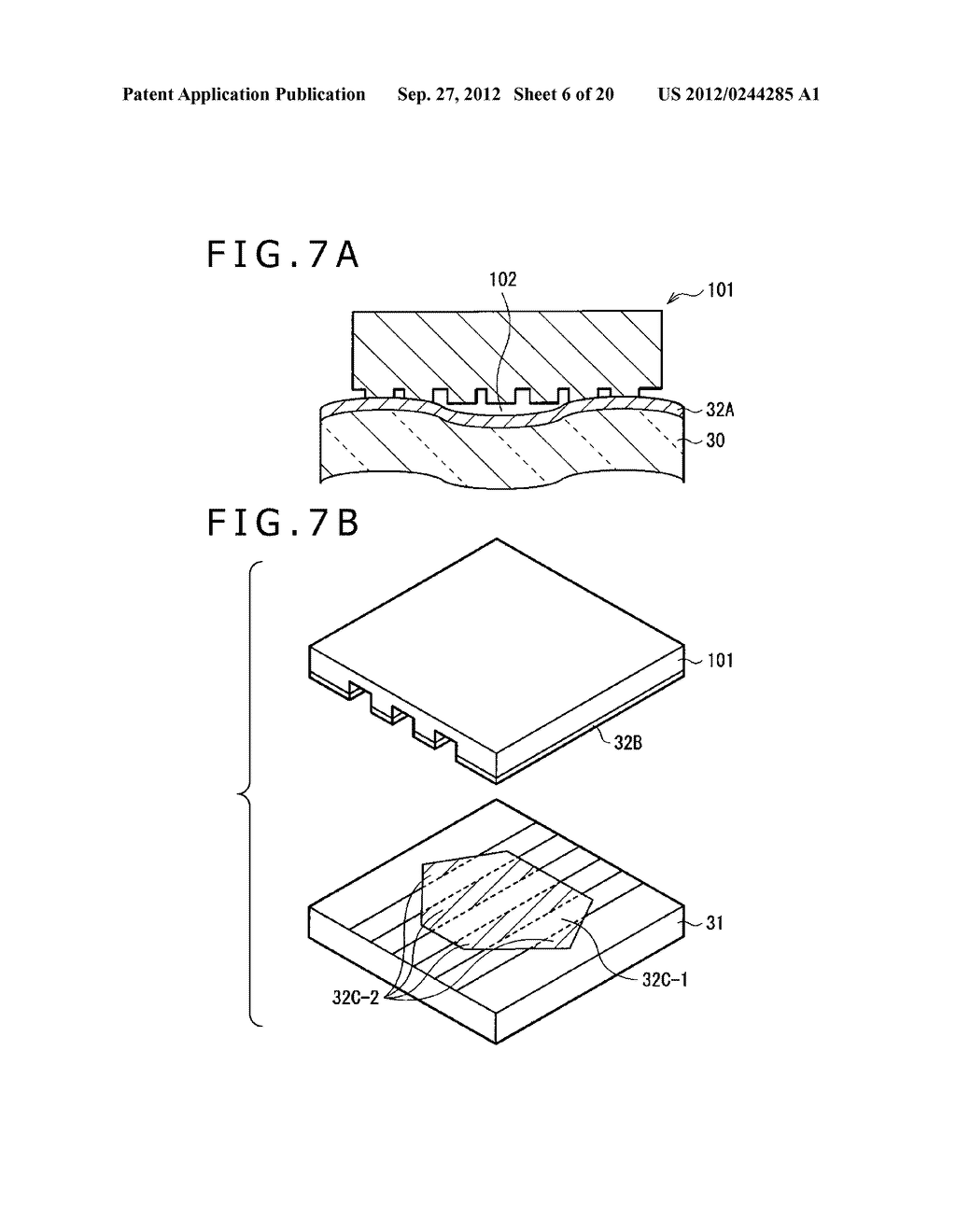 BUBBLE DISCHARGING STRUCTURE, REVERSE PRINTING BLOCK, DISPLAY DEVICE,     PRINTING METHOD, AND METHOD OF MANUFACTURING DISPLAY DEVICE - diagram, schematic, and image 07