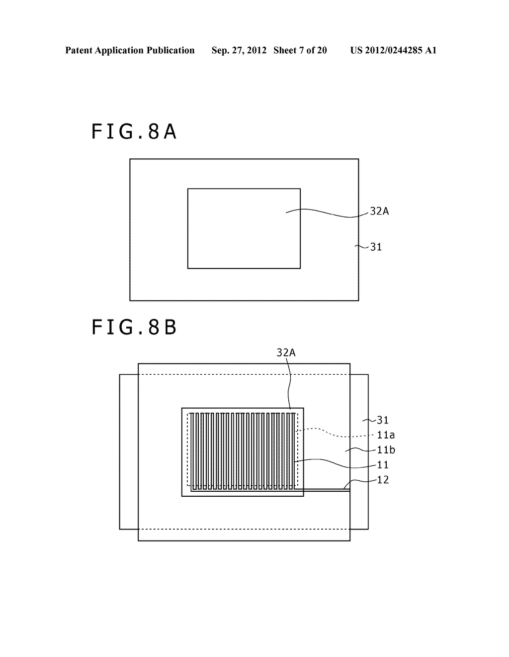 BUBBLE DISCHARGING STRUCTURE, REVERSE PRINTING BLOCK, DISPLAY DEVICE,     PRINTING METHOD, AND METHOD OF MANUFACTURING DISPLAY DEVICE - diagram, schematic, and image 08
