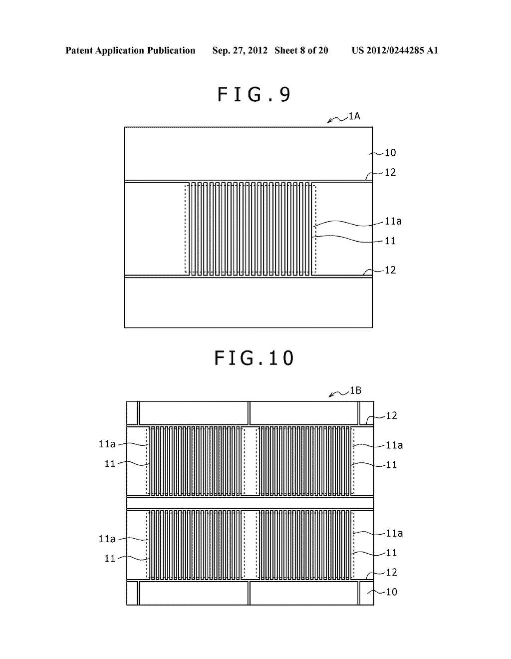 BUBBLE DISCHARGING STRUCTURE, REVERSE PRINTING BLOCK, DISPLAY DEVICE,     PRINTING METHOD, AND METHOD OF MANUFACTURING DISPLAY DEVICE - diagram, schematic, and image 09