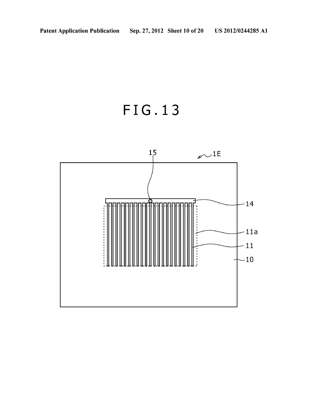 BUBBLE DISCHARGING STRUCTURE, REVERSE PRINTING BLOCK, DISPLAY DEVICE,     PRINTING METHOD, AND METHOD OF MANUFACTURING DISPLAY DEVICE - diagram, schematic, and image 11
