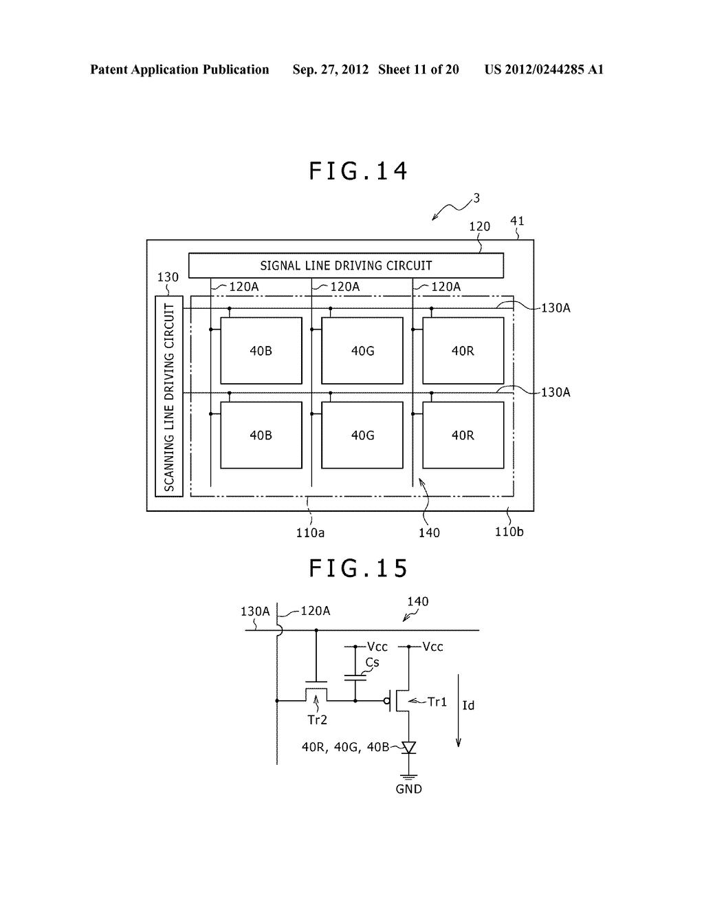 BUBBLE DISCHARGING STRUCTURE, REVERSE PRINTING BLOCK, DISPLAY DEVICE,     PRINTING METHOD, AND METHOD OF MANUFACTURING DISPLAY DEVICE - diagram, schematic, and image 12