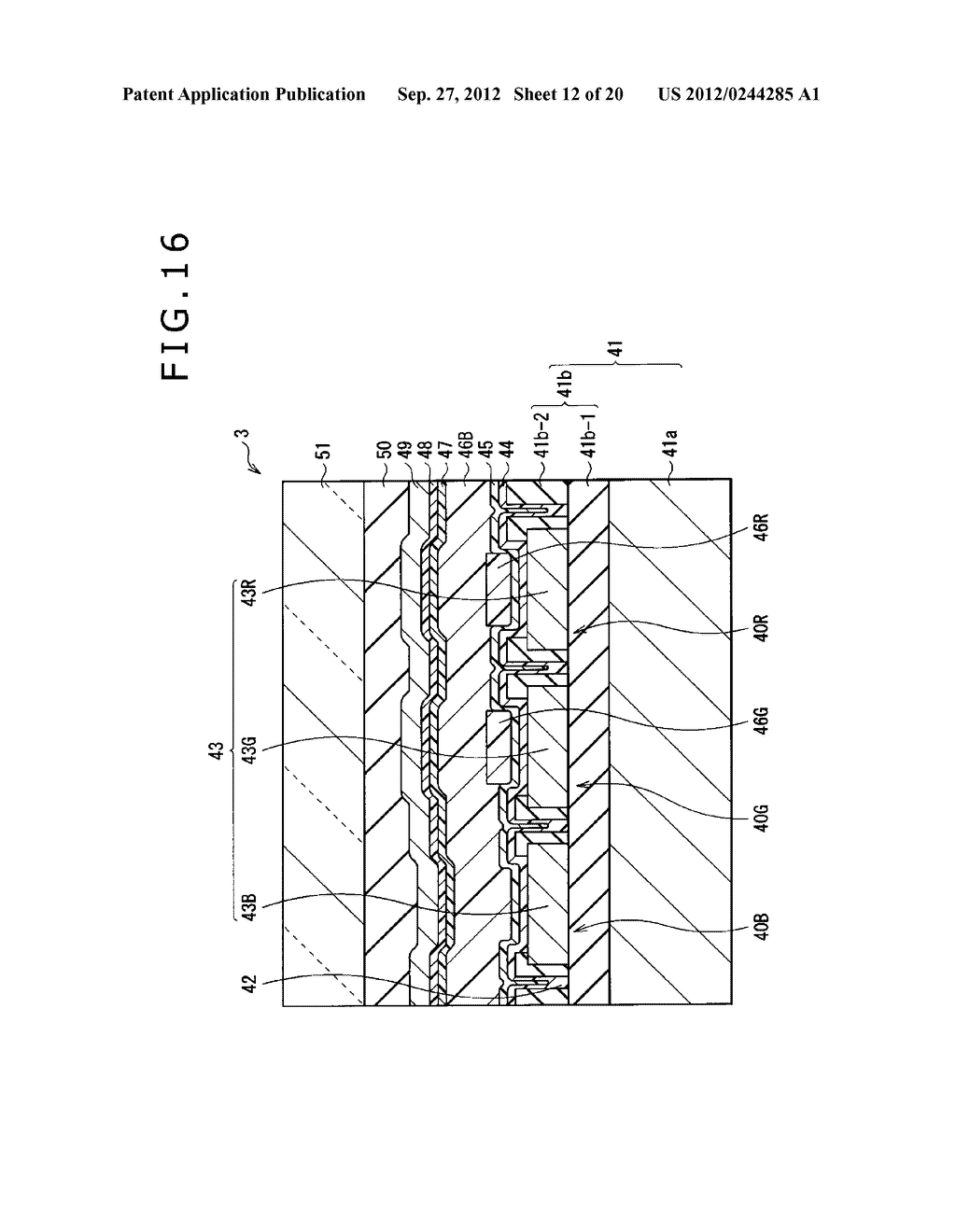 BUBBLE DISCHARGING STRUCTURE, REVERSE PRINTING BLOCK, DISPLAY DEVICE,     PRINTING METHOD, AND METHOD OF MANUFACTURING DISPLAY DEVICE - diagram, schematic, and image 13