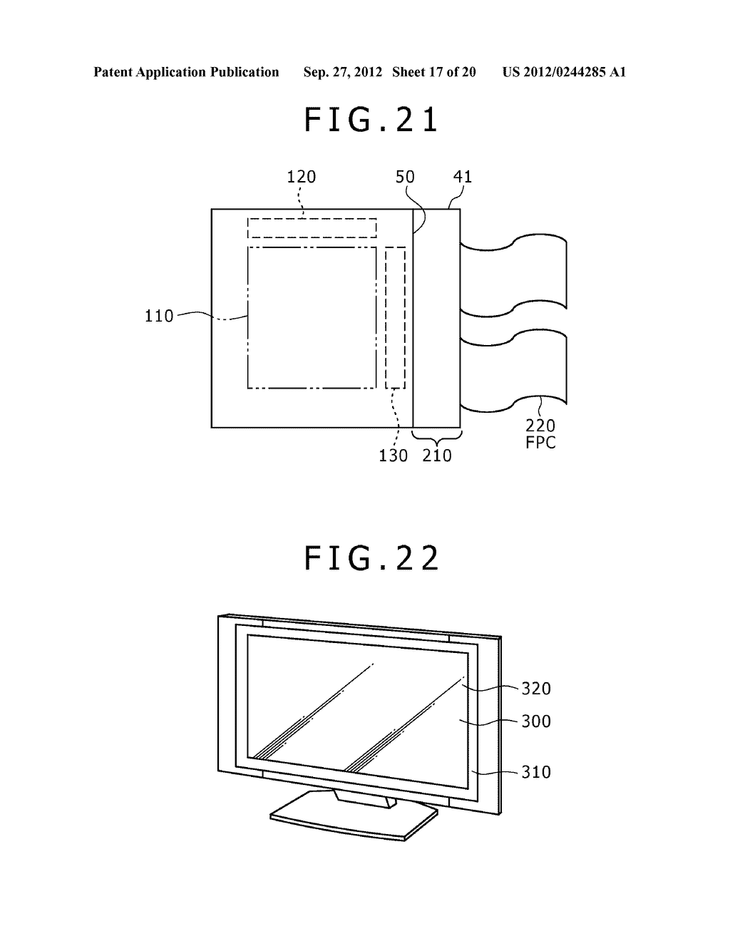 BUBBLE DISCHARGING STRUCTURE, REVERSE PRINTING BLOCK, DISPLAY DEVICE,     PRINTING METHOD, AND METHOD OF MANUFACTURING DISPLAY DEVICE - diagram, schematic, and image 18