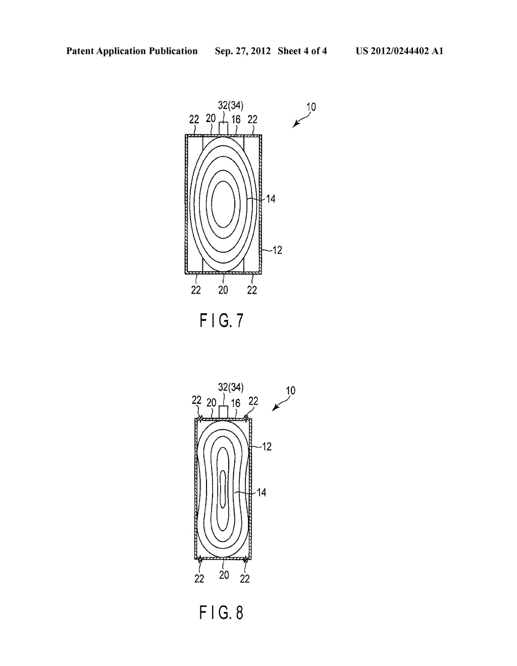 SECONDARY BATTERY AND METHOD OF MANUFACTURING SECONDARY BATTERY - diagram, schematic, and image 05