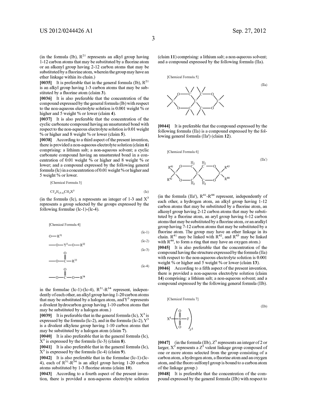 NONAQUEOUS ELECTROLYTE SOLUTION AND LITHIUM SECONDARY BATTERY USING SAME - diagram, schematic, and image 04