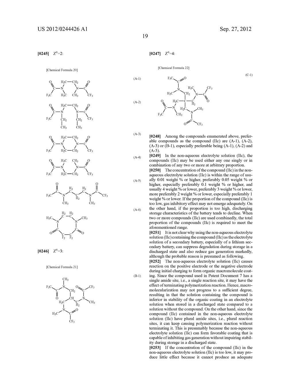 NONAQUEOUS ELECTROLYTE SOLUTION AND LITHIUM SECONDARY BATTERY USING SAME - diagram, schematic, and image 20
