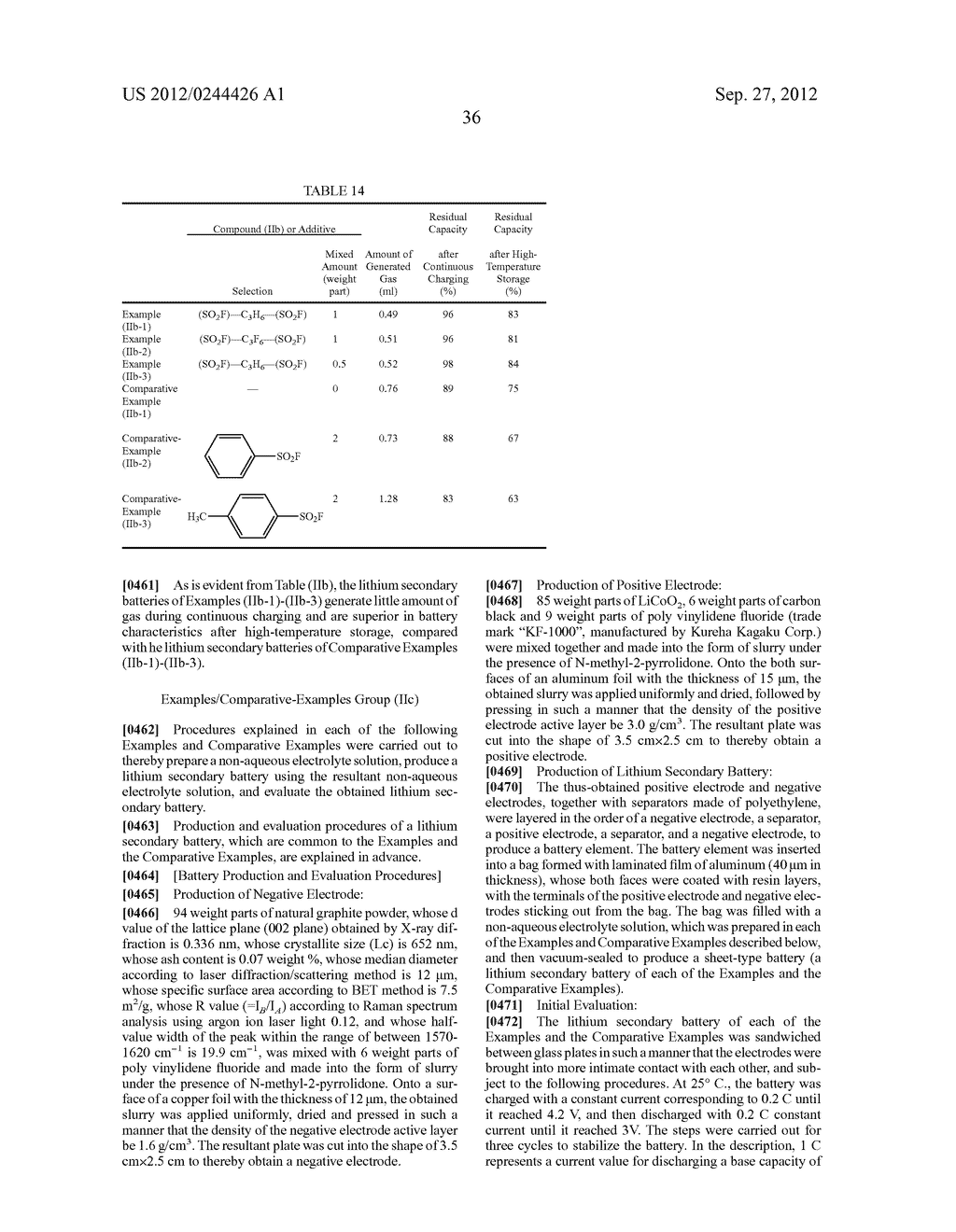 NONAQUEOUS ELECTROLYTE SOLUTION AND LITHIUM SECONDARY BATTERY USING SAME - diagram, schematic, and image 37