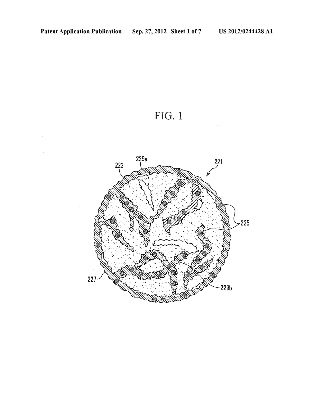 NEGATIVE ELECTRODE FOR RECHARGEABLE LITHIUM BATTERY, METHOD OF PREPARING     SAME AND RECHARGEABLE LITHIUM BATTERY INCLUDING SAME - diagram, schematic, and image 02