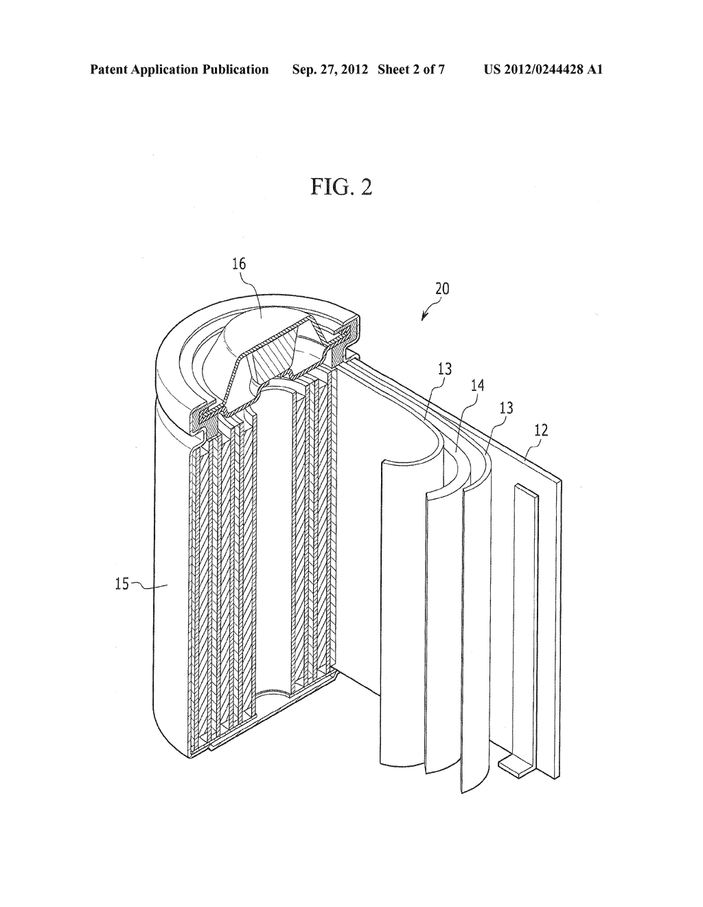 NEGATIVE ELECTRODE FOR RECHARGEABLE LITHIUM BATTERY, METHOD OF PREPARING     SAME AND RECHARGEABLE LITHIUM BATTERY INCLUDING SAME - diagram, schematic, and image 03
