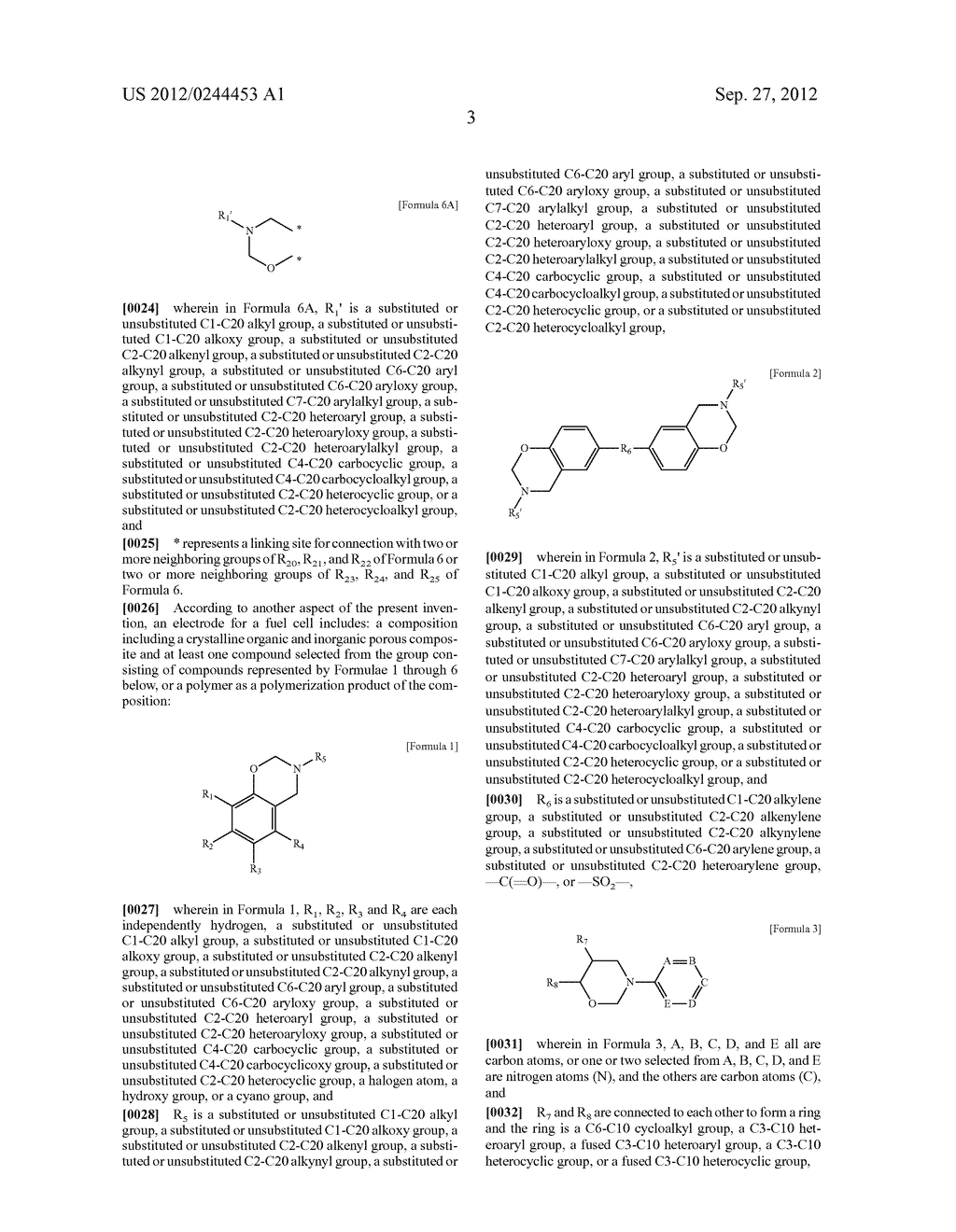 ELECTROLYTIC MEMBRANE FOR FUEL CELL, ELECTRODE FOR FUEL CELL, AND FUEL     CELL INCLUDING THE ELECTROLYTIC MEMBRANE AND/OR THE ELECTRODE - diagram, schematic, and image 09