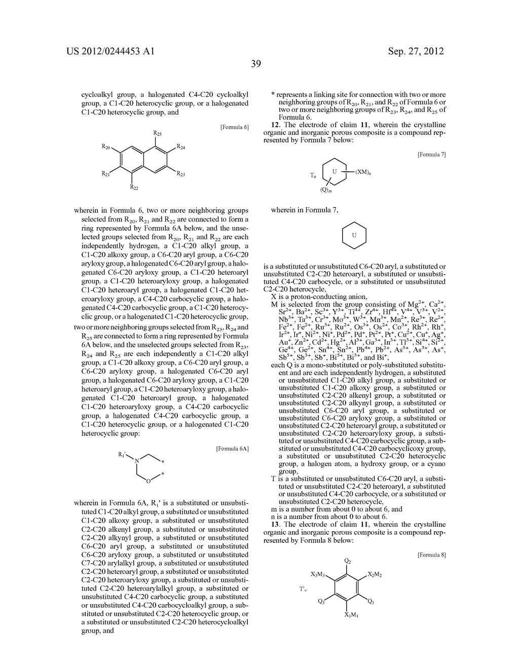 ELECTROLYTIC MEMBRANE FOR FUEL CELL, ELECTRODE FOR FUEL CELL, AND FUEL     CELL INCLUDING THE ELECTROLYTIC MEMBRANE AND/OR THE ELECTRODE - diagram, schematic, and image 45