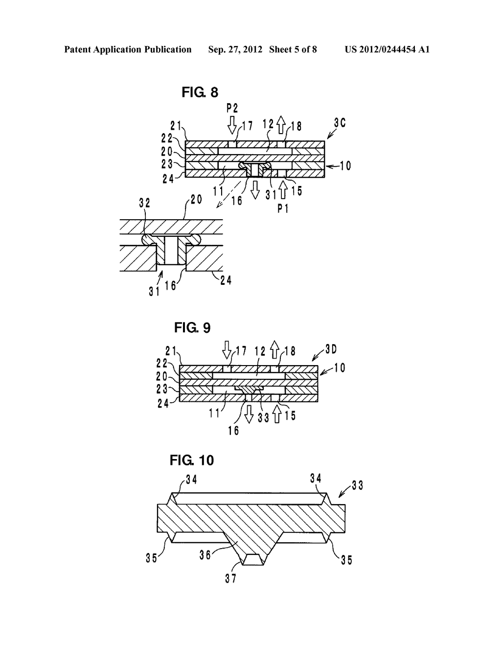 VALVE, FLUIDIC APPARATUS, AND FLUID-SUPPLYING APPARATUS - diagram, schematic, and image 06