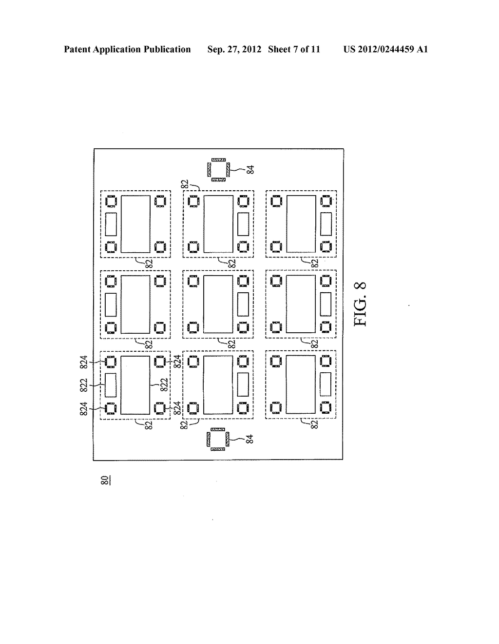 METHOD FOR EVALUATING OVERLAY ERROR AND MASK FOR THE SAME - diagram, schematic, and image 08