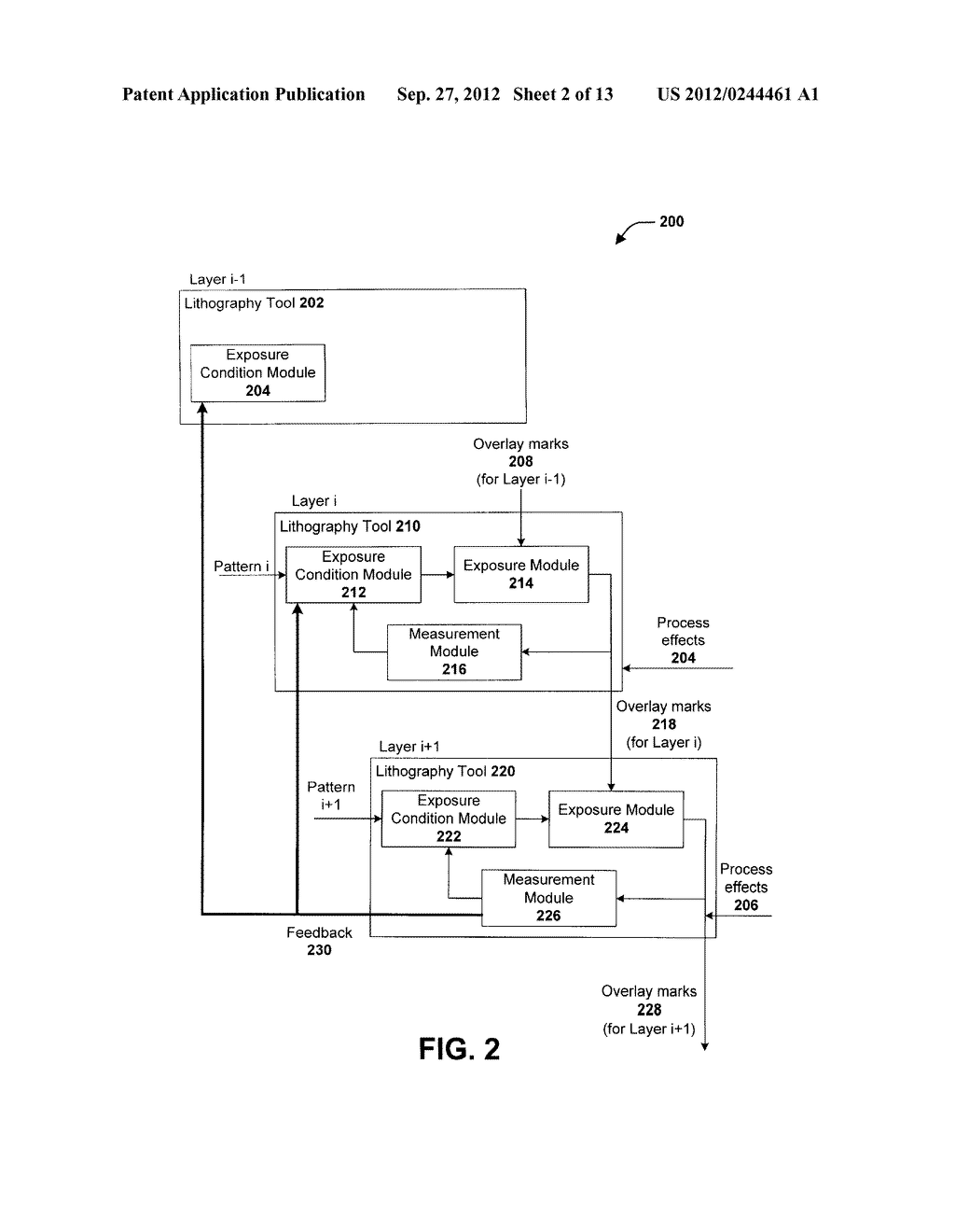 OVERLAY CONTROL METHOD AND A SEMICONDUCTOR MANUFACTURING METHOD AND     APPARATUS EMPLOYING THE SAME - diagram, schematic, and image 03