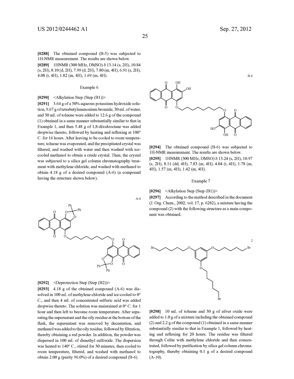 METHOD FOR PREPARING ALIZARIN DERIVATIVE COMPOUND, NOVEL ALIZARIN     DERIVATIVE COMPOUND, SURFACE MODIFICATION METHOD, PHOTOELECTRIC     CONVERSION FILM, PHOTOELECTRIC CONVERSION ELEMENT, AND     ELECTROPHOTOGRAPHIC PHOTORECEPTOR - diagram, schematic, and image 27